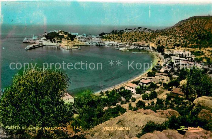 Mallorca soller vista del puerto nr 34932 oldthing - Mallorca islas baleares ...
