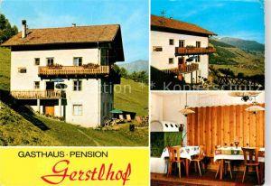AK / Ansichtskarte Burgeis Fuerstenburg Gasthaus Pension Gerstlhof Gaststube Kat.