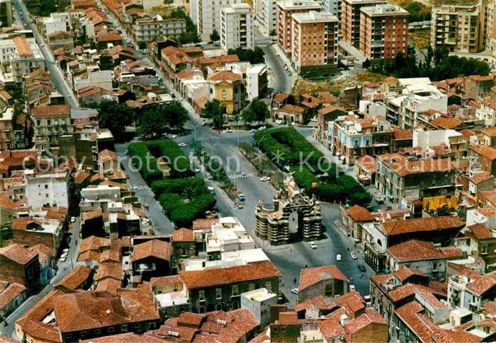 AK / Ansichtskarte Catania Veduta aerea di Porta Garibaldi e Piazza Palestro Kat. Catania