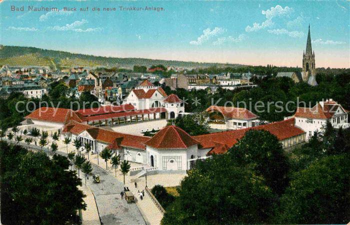 AK / Ansichtskarte Bad Nauheim Neue Trinkkuranlage Kat. Bad Nauheim