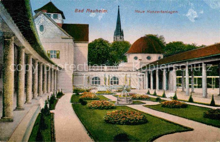 AK / Ansichtskarte Bad Nauheim Neue Konzertanlagen Kat. Bad Nauheim