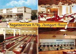 AK / Ansichtskarte Feuerbach Stuttgart Kegelzentrum KSVg Restaurant Kegelbahnen Kat. Stuttgart