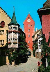 AK / Ansichtskarte Meersburg Bodensee Obertor Kat. Meersburg