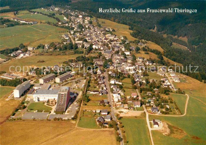 AK / Ansichtskarte Frauenwald Thueringen Fliegeraufnahme Kat. Frauenwald