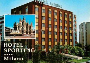 AK / Ansichtskarte Milano Hotel Sporting Milano Kat. Italien