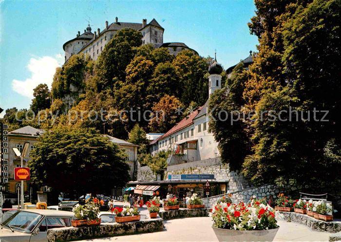 AK / Ansichtskarte Kufstein Tirol Schloss Ortsansicht Kat. Kufstein