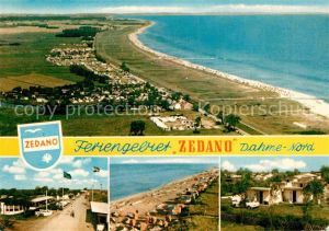 AK / Ansichtskarte Dahme Ostseebad Feriengebiet Zedano Luftbild Kat. Dahme