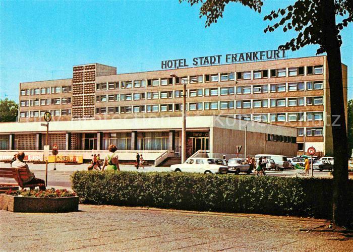 AK / Ansichtskarte Frankfurt Oder Hotel Stadt Frankfurt Kat. Frankfurt Oder