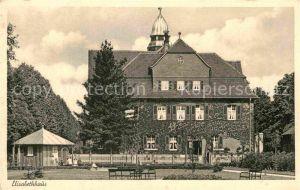 AK / Ansichtskarte Bad Nauheim Kinderheilanstalt Elisabethhaus Kat. Bad Nauheim