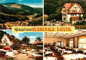 AK / Ansichtskarte Bad Herrenalb Gaistal Cafe Pension Waldschloesschen Kat. Bad Herrenalb