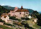 AK / Ansichtskarte Gernsbach Terrassen Gaststaette Schloss Eberstein Murgtal Kat. Gernsbach
