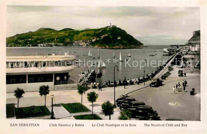 AK / Ansichtskarte San Sebastian de Garabandal Club Nautico y Bahia