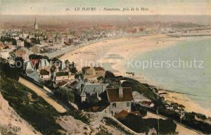 AK / Ansichtskarte Le Havre Panorama pris de la Heve Kat. Le Havre