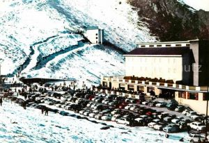 AK / Ansichtskarte Aquila TI Hotel L Aigle Berghotel Wintersportplatz Kat. Aquila