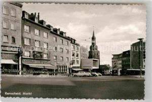 AK / Ansichtskarte Remscheid Markt Kat. Remscheid
