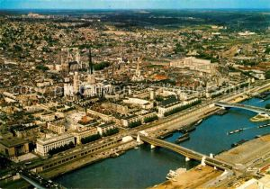 AK / Ansichtskarte Rouen Vue generale aerienne Kat. Rouen