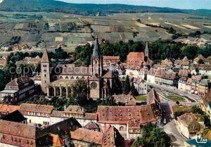 AK / Ansichtskarte Wissembourg Eglise Collegial St Pierre et Paul Eglise St Jean vue aerienne Kat. Wissembourg