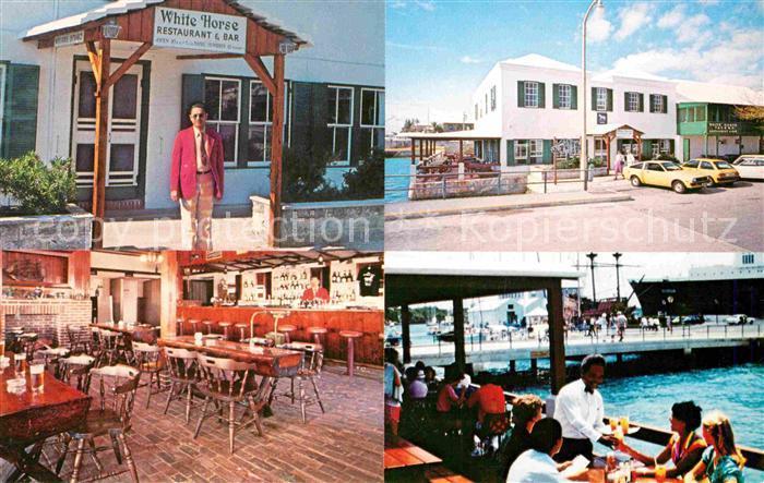 AK / Ansichtskarte Bermuda The White Horse Tavern Kat. Bermuda