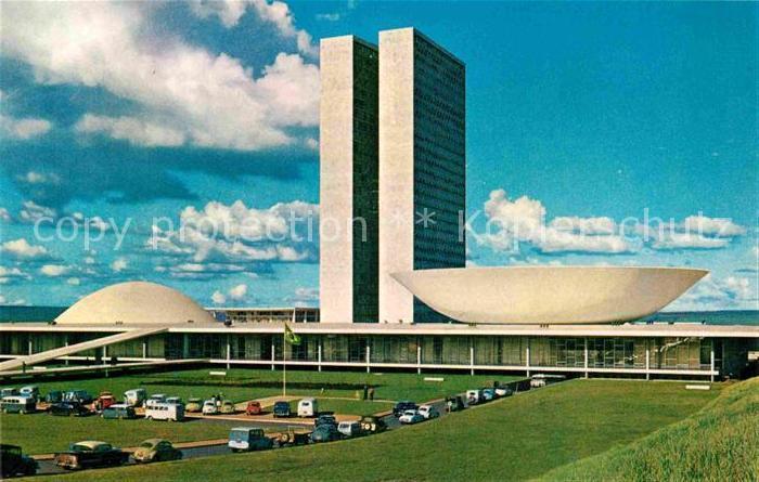AK / Ansichtskarte Brasilia Congress Hall Kat. Brasilia