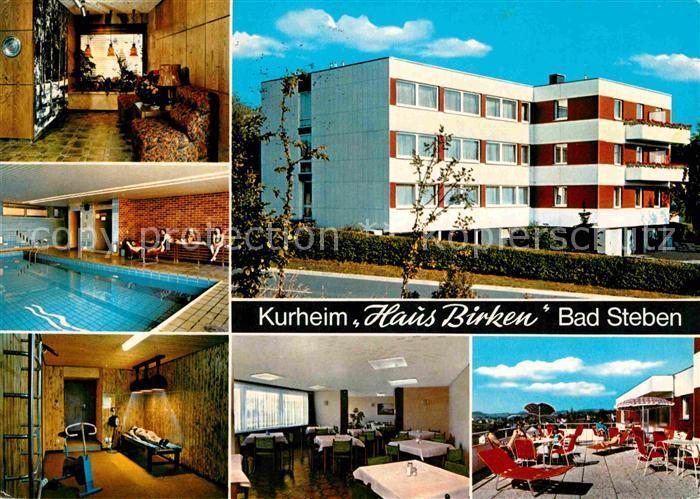 AK / Ansichtskarte Bad Steben Kurheim Haus Birken Kat. Bad Steben