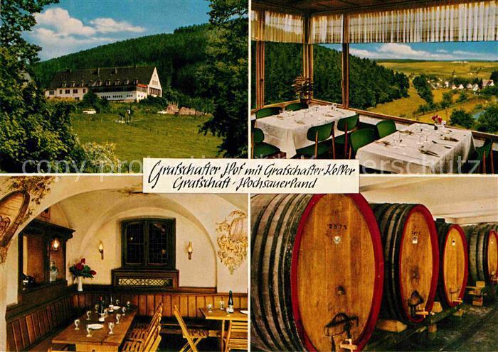 AK / Ansichtskarte Grafschaft Sauerland Grafschafter Hof mit Grafschafter Keller Kat. Schmallenberg