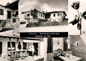 AK / Ansichtskarte Holzoester Franking Haus Rosengarten Terrasse Gaststube Kat. Franking