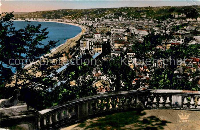 AK / Ansichtskarte Nice Alpes Maritimes Vue generale prise de la terrasse du Chateau Kat. Nice