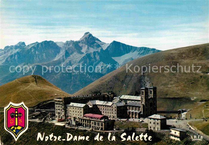 AK / Ansichtskarte Notre Dame de la Salette Le Pont et les nouveaux batiments Kat. La Salette Fallavaux