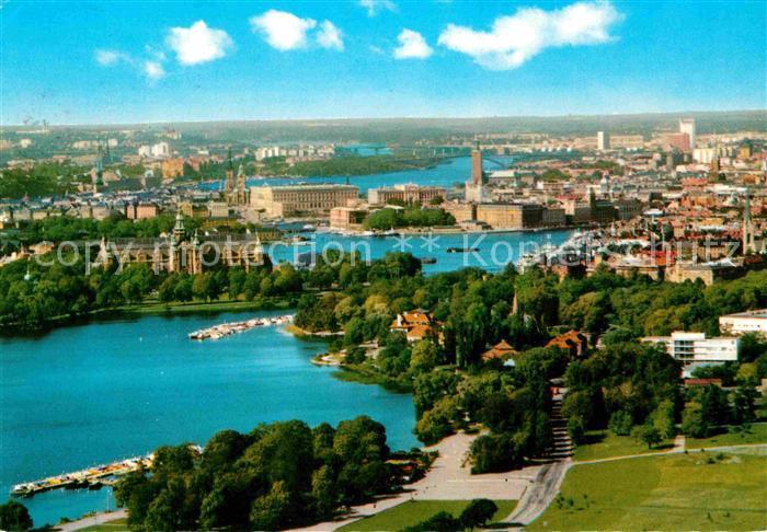 AK / Ansichtskarte Stockholm Utsikt fran Kaknaestornet Kat. Stockholm