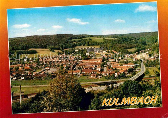 AK / Ansichtskarte Kulmbach Fliegeraufnahme Kat. Kulmbach