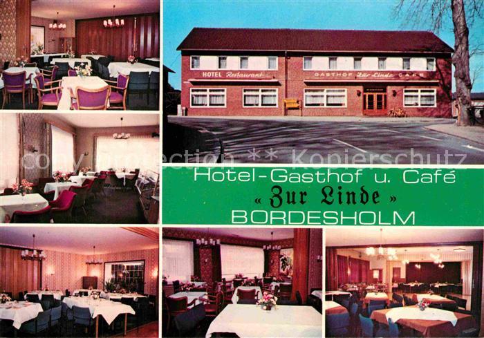 AK / Ansichtskarte Bordesholm Hotel Gasthof Cafe Zur Linde Gastraeume Kat. Bordesholm