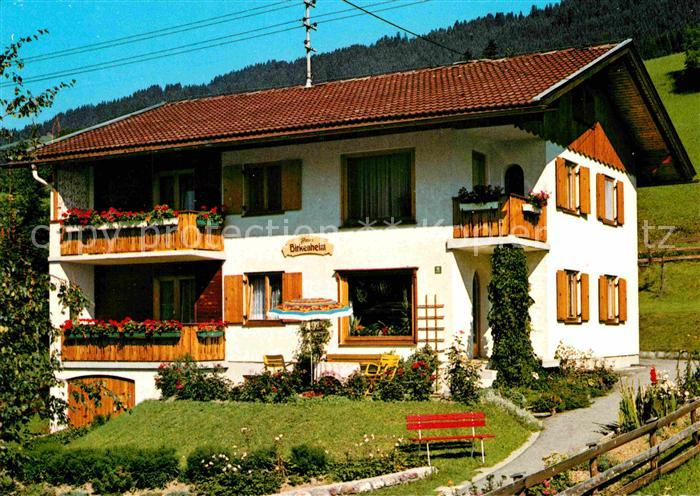 AK / Ansichtskarte Hindelang Haus Birkenheim  Kat. Bad Hindelang
