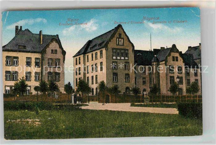 AK / Ansichtskarte Mainz Rhein Elisabeth Kaserne