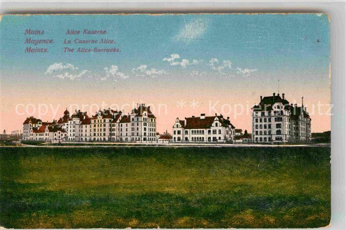 AK / Ansichtskarte Mainz Rhein Alice Kaserne