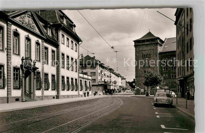 AK / Ansichtskarte Mainz Rhein Schillerstrasse