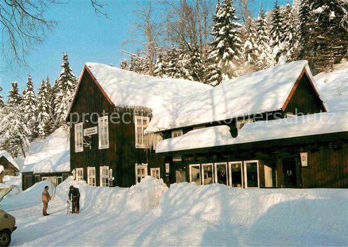 AK / Ansichtskarte St Andreasberg Harz Waldgaststaette Rehberger Grabenhaus im Winter Kat. Sankt Andreasberg