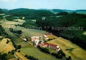 AK / Ansichtskarte Neukirchen Knuellgebirge Fliegeraufnahme Waldsanatorium Urbachtal Sanatorium Dr. Barsch KG Kat. Neukirchen