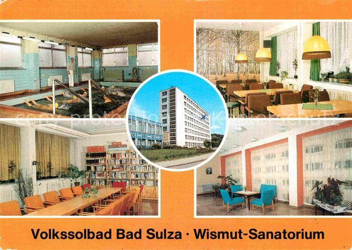 AK / Ansichtskarte Bad Sulza Volkssolbad Wismut Sanatorium Kat. Bad Sulza