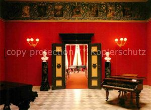 AK / Ansichtskarte Wagner Richard Komponist Museum Haus Wahnfried Halle Klavier  Kat. Musik