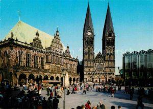 AK / Ansichtskarte Bremen Rathaus Dom und Parlament Kat. Bremen