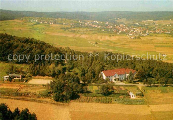 AK / Ansichtskarte Bad Kissingen Der Heiligenhof Fliegeraufnahme Kat. Bad Kissingen