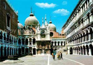 AK / Ansichtskarte Venezia Venedig Palazzo Ducale Cortile Kat.