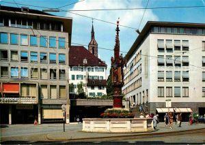 AK / Ansichtskarte Basel BS Fischmarktbrunnen Kat. Basel