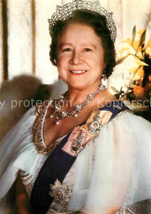 AK / Ansichtskarte Adel England Queen Elizabeth Queen Mother  Kat. Koenigshaeuser