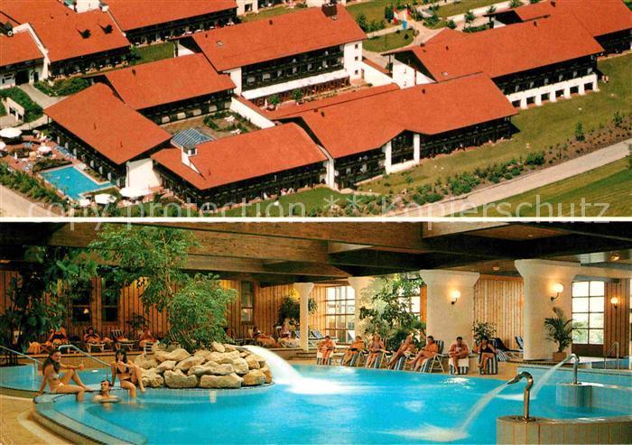 Whirlpool Bad Griesbach : Ak ansichtskarte griesbach rottal park hotel swimming pool