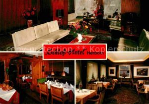 AK / Ansichtskarte Herborn Hessen Schloss Hotel Gastraeume Kat. Herborn