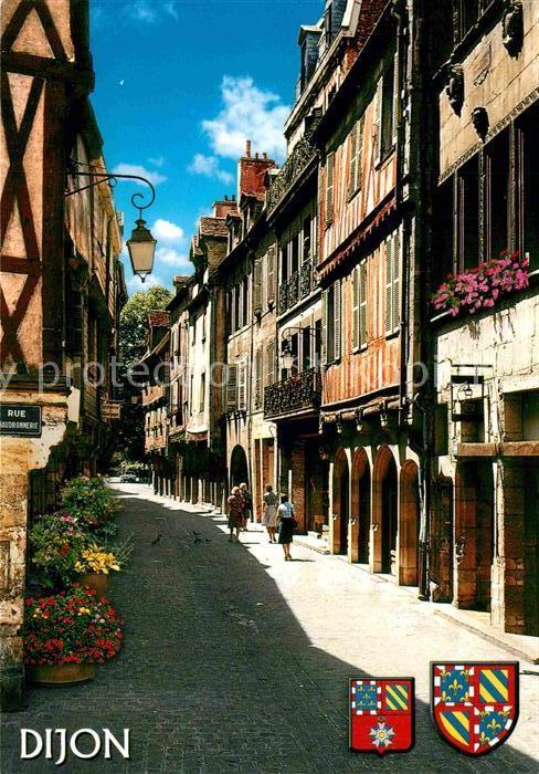 AK / Ansichtskarte Dijon Cote d Or La rue Verrerie Kat. Dijon