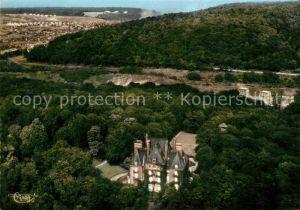AK / Ansichtskarte Joeuf Vue aerienne Chateau et l Usine de Wendel Kat. Joeuf