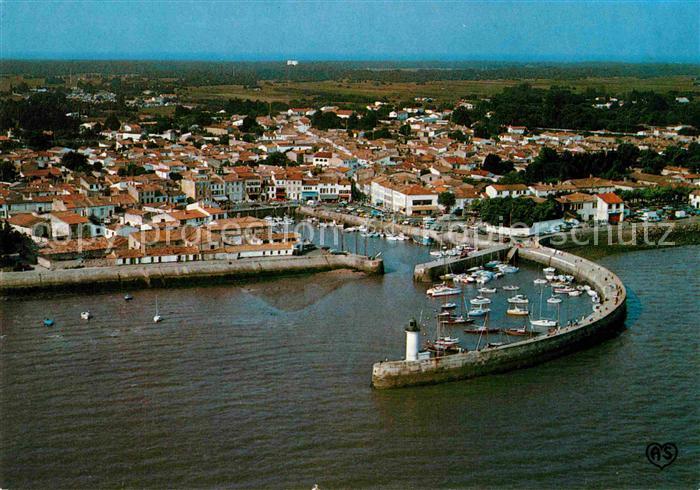 AK / Ansichtskarte Ile de Re La Flotte Port vue aerienne Kat. Saint Martin de Re