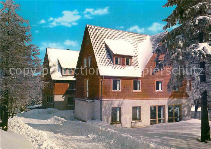 AK / Ansichtskarte Hahnenklee Bockswiese Harz Muettergenesungsheim Haus Tannenhof Kat. Goslar